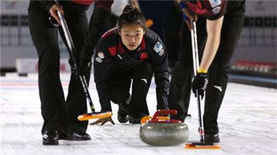 女子冰壺世錦賽開賽 中國隊取得開門紅