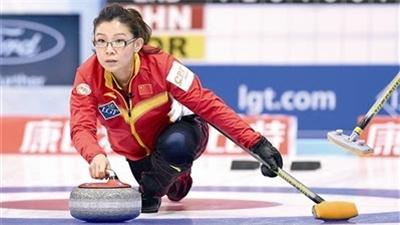 女子冰壺世錦賽 中國隊遭遇連敗暫列第六