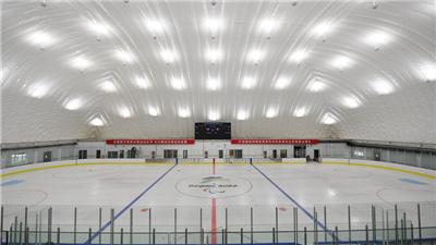 走近冬奧|備戰北京冬殘奧會 北京建成永久性氣膜式冰壺冰球運動館