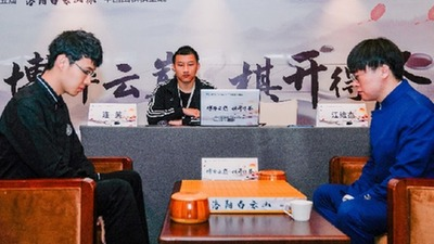 中國圍棋棋聖戰:時越將與連笑爭奪挑戰權