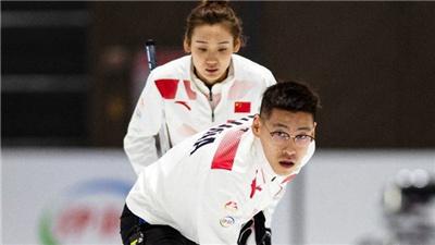 冰壺混雙世錦賽中國隊不敵挪威、日本