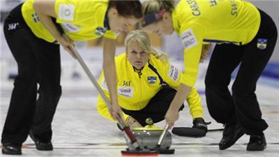 冰壺混雙世錦賽瑞典隊確定冬奧會資格