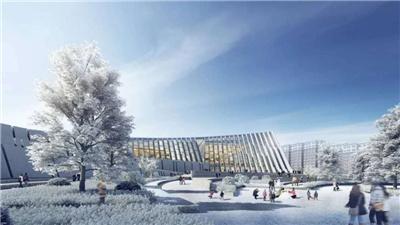 走近冬奧|崇禮華僑冰雪博物館主體結構完工