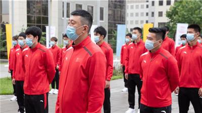 中國國家冰球集訓隊抵達莫斯科