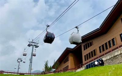 北京冬奧會國家高山滑雪中心索道全線貫通具備運營條件