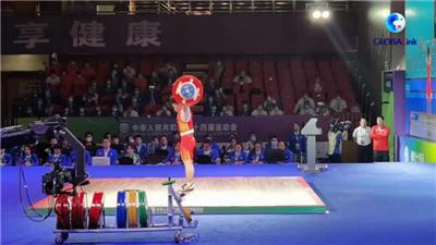 全球連線丨侯志慧超世界紀錄奪冠