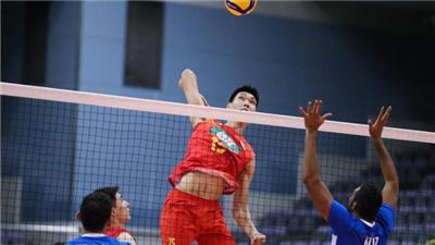 中國男排時隔6年再次殺入亞洲錦標賽四強