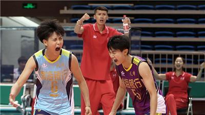 天津、江蘇會師全運會女排19歲以下組決賽