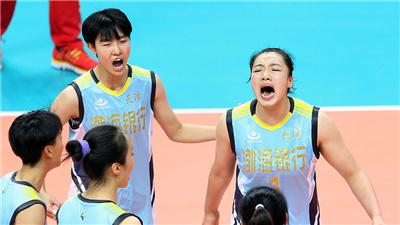 天津青年女排主帥:學會抗壓,是小隊員們的基本功