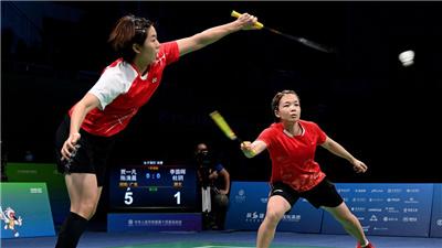 新老交接難説再見 中堅力量未來可期——第十四屆全運會羽毛球比賽綜述
