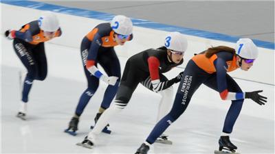 走近冬奧|速滑國際測試賽收官 外籍選手積極分享體驗