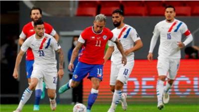 世界杯預選賽智利隊戰勝巴拉圭隊