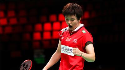 尤伯杯小組賽:中國隊勝丹麥隊