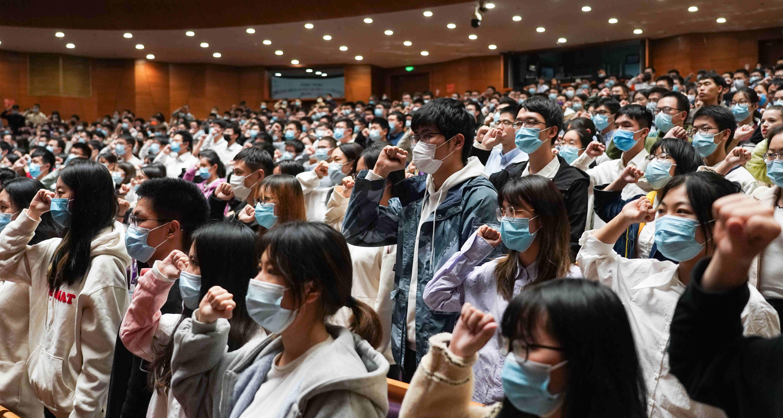走近冬奧|清華大學舉行北京冬奧和冬殘奧會志願者工作動員會