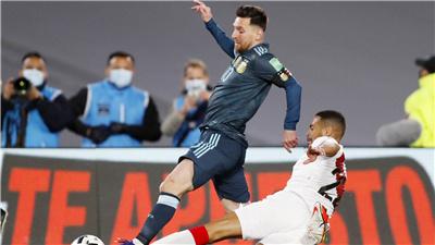 世預賽:阿根廷勝秘魯