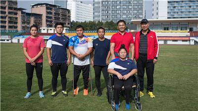 盲人運動員田龍兵:體育之光,為我指引方向
