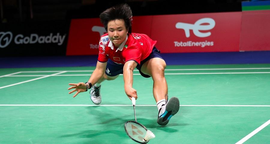 尤伯杯:中國隊晉級決賽