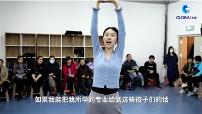 全球連線 盲人模特王蕾蕾:我想成為光,點亮他們的夢