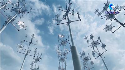 全球連線|美!北京冬奧文化雕塑亮相