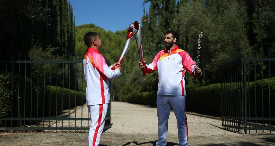 北京冬奧會火種在希臘成功點燃