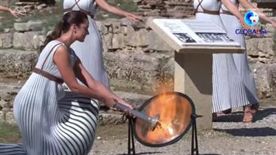 全球連線 | 視頻:北京冬奧會火種在希臘成功點燃