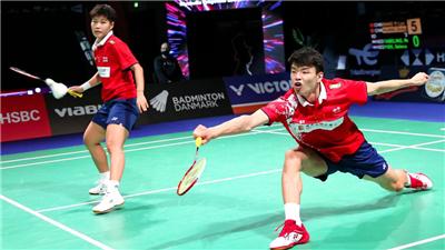 羽毛球——丹麥公開賽:王懿律/黃東萍混雙首輪晉級