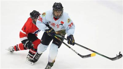第三屆全國大學生冰球聯賽在京開幕