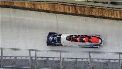 走近冬奧|賽道制冰獲高度評價 冬奧雪車雪橇場館完成國際賽首秀